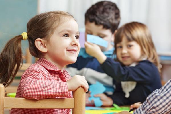 Preescolar con grupos reducidos